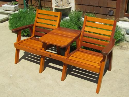 cedar patio table and chairs 2